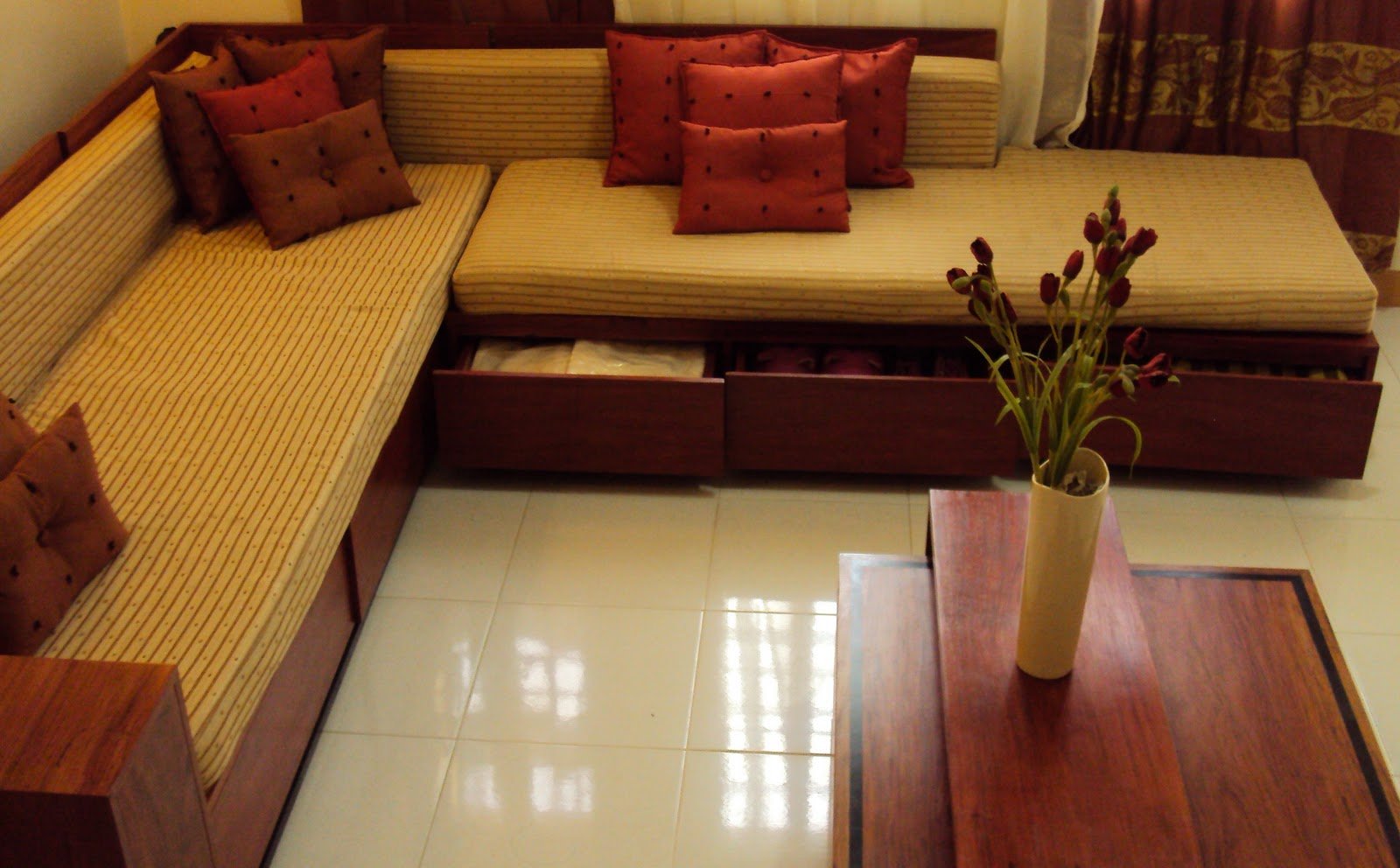 Sala Set For Sale In Binangonan Rizal Narra Wood Furniture In Philippines Decorating Interior