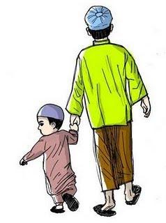 Raudatulradhiah Syaitan Menyuluh Jalan Seorang Lelaki Menuju Masjid
