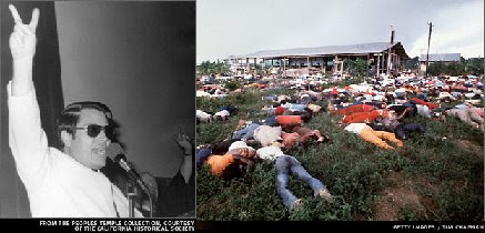 "JIM JONES Promised ""Equality"", ""Paradise""...918 people were killed"