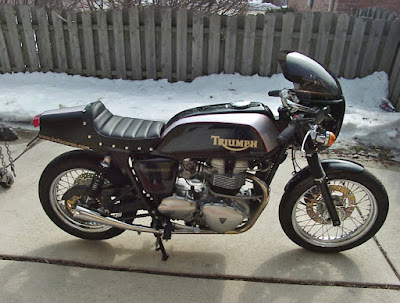 TRIUMPH BONNEVILLE BY BELLACORSE