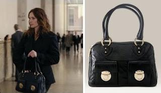 251efc1271 Marc Jacobs handbags: Julia Roberts in Duplicity with Marc Jacobs ...