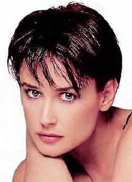 demi moore haircut in ghost