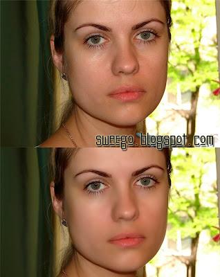 Чистка лица в Фотошопе.