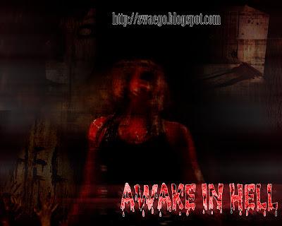 Постер-коллаж из фильмов ужасов в Фотошоп