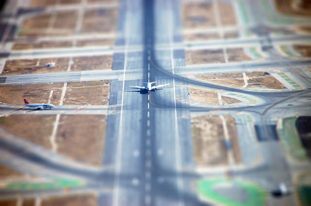 Авиационные Tilt Shift фотографии.