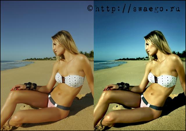 Имитация Ломографии+Акцентирование на объекте в Photoshop CS5.