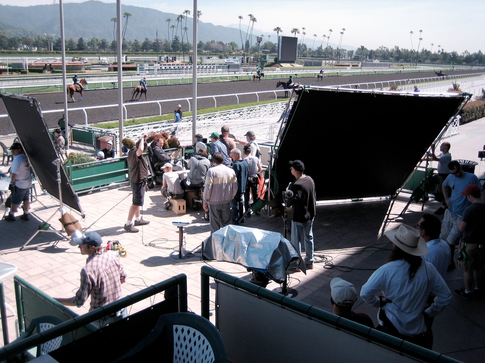 Mary Forney S Blog On The Set Of Quot Luck Quot At Santa Anita