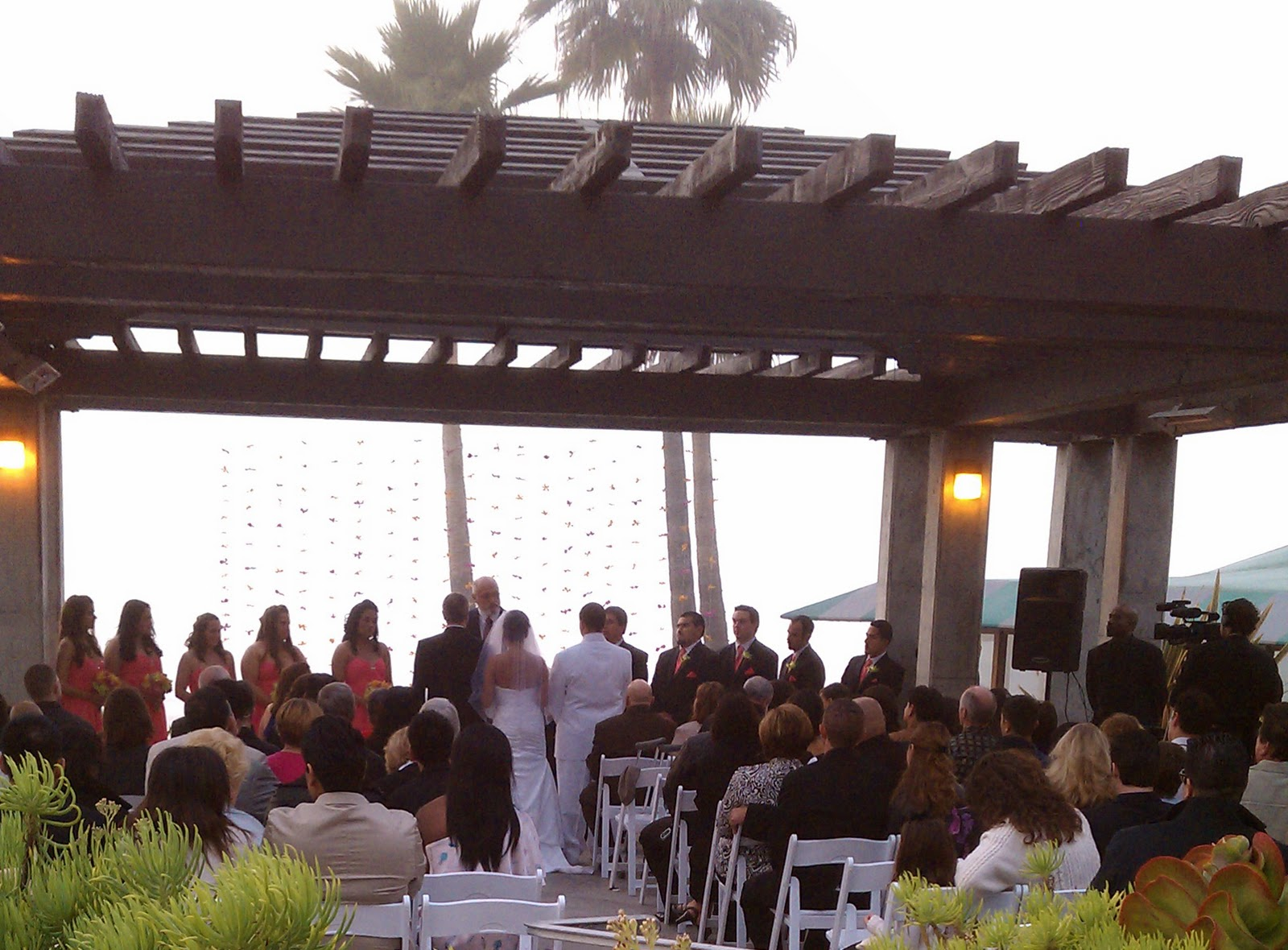 Del Mar House Wedding And Reception
