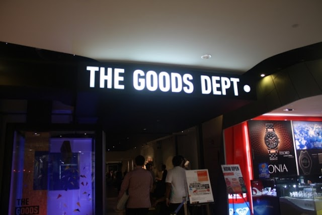 THE GOODS DEPT STORE OPENING