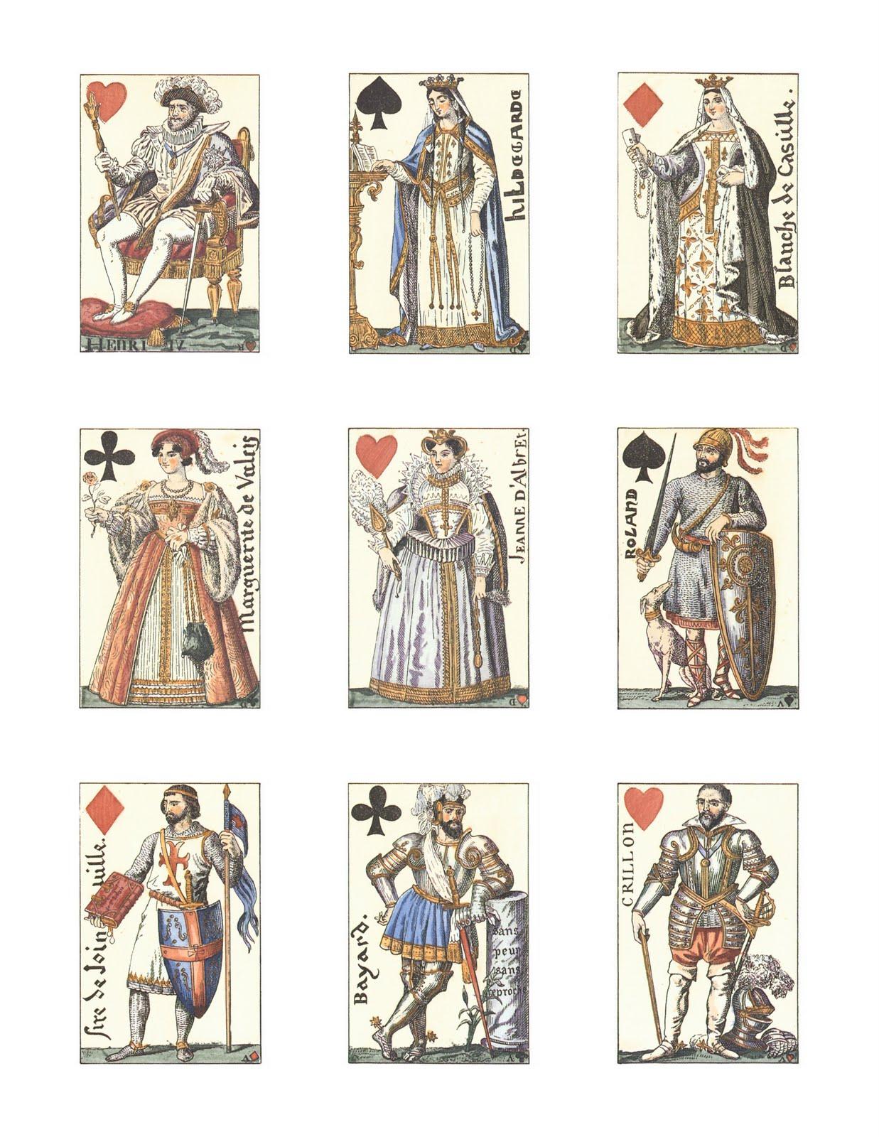Printable Tarot Deck A Tarot Card Deck And Printable: Magic Moonlight Free Images: Old Tarot Cards! Free