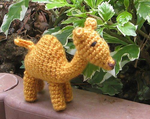 Joe, The Camel - Amigurumi Pattern - Delicious Crochet | 399x500