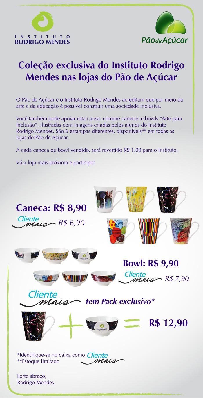 ced2639a03571 Instituto Rodrigo Mendes e Grupo Pão de Açúcar