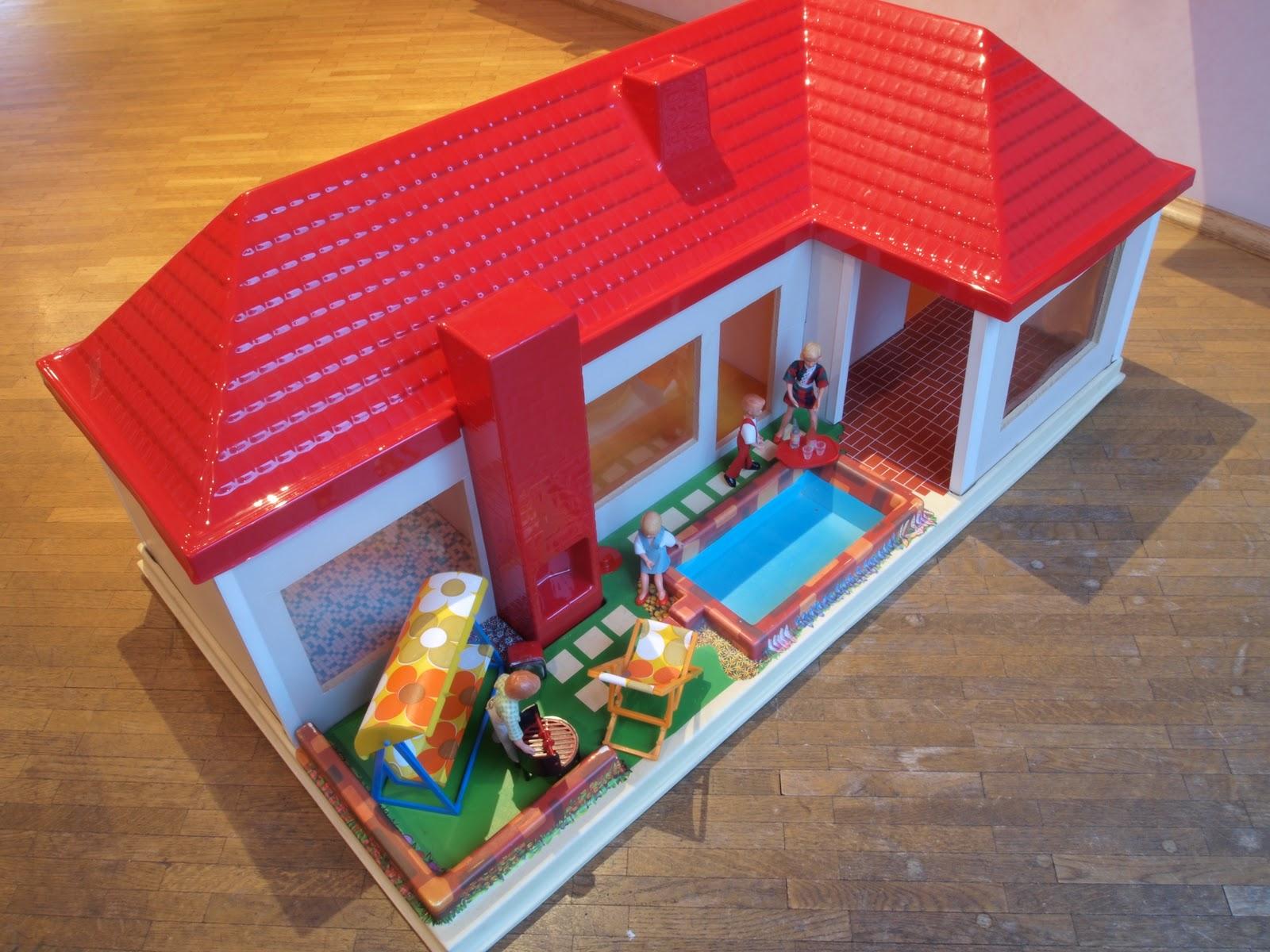 diepuppenstubensammlerin puppenhaus 1973 elfriede lipfert elka plastic dolls house. Black Bedroom Furniture Sets. Home Design Ideas