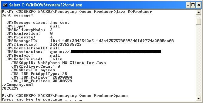 Java Source Codes and Everything: Putting the message into