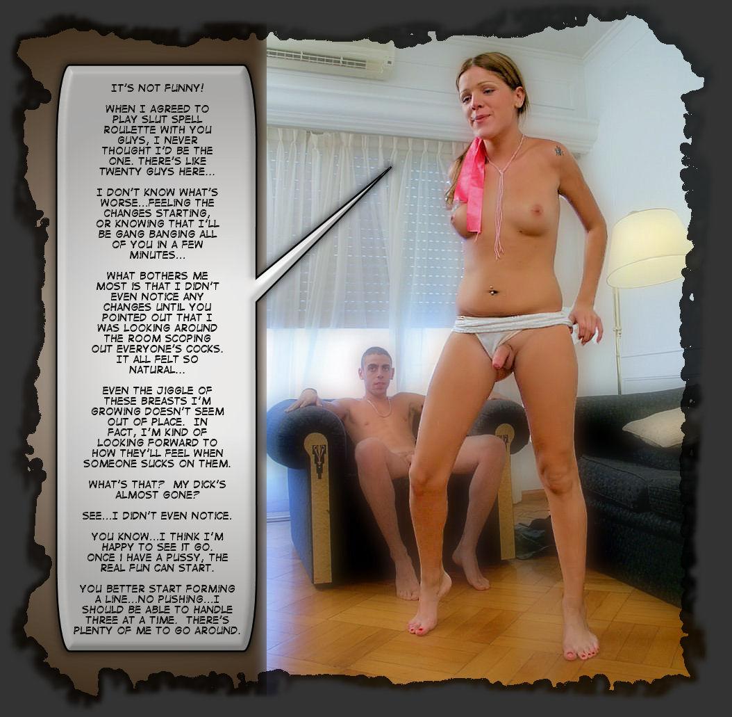Wife Forced Penis Shrink Caption