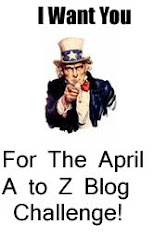 Badge --Blogging From A to Z April Challenge