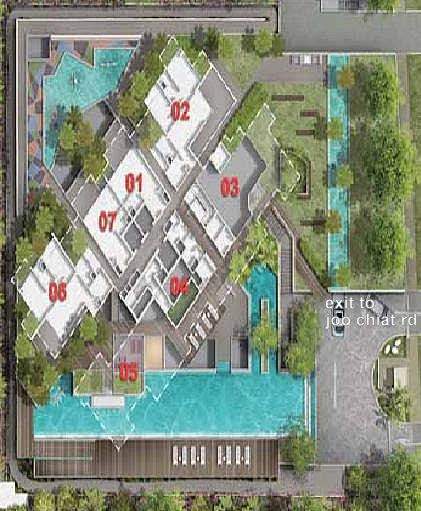 Coralis Condo Freehold Fh District 15 Within Prime District Of Marine Parade Coralis Site Plan And Floor Plans