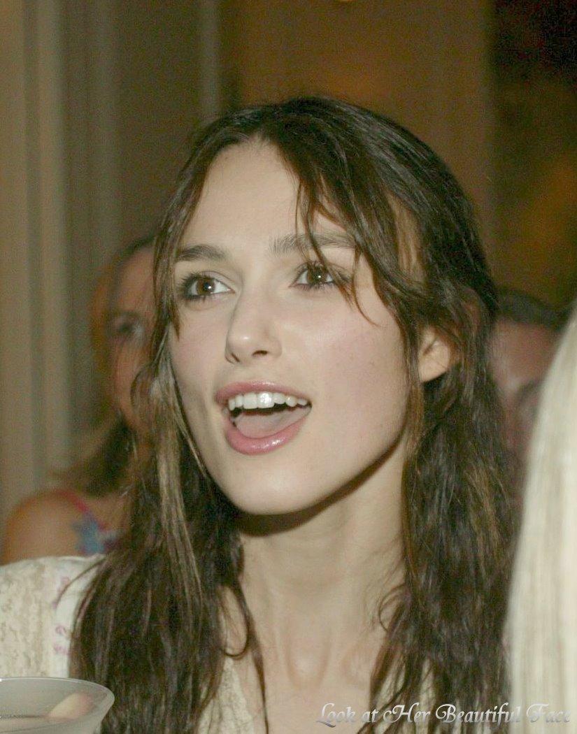 Beautiful Face Eyes Lips: Look At Her Beautiful Face: Look At Keira Knightley