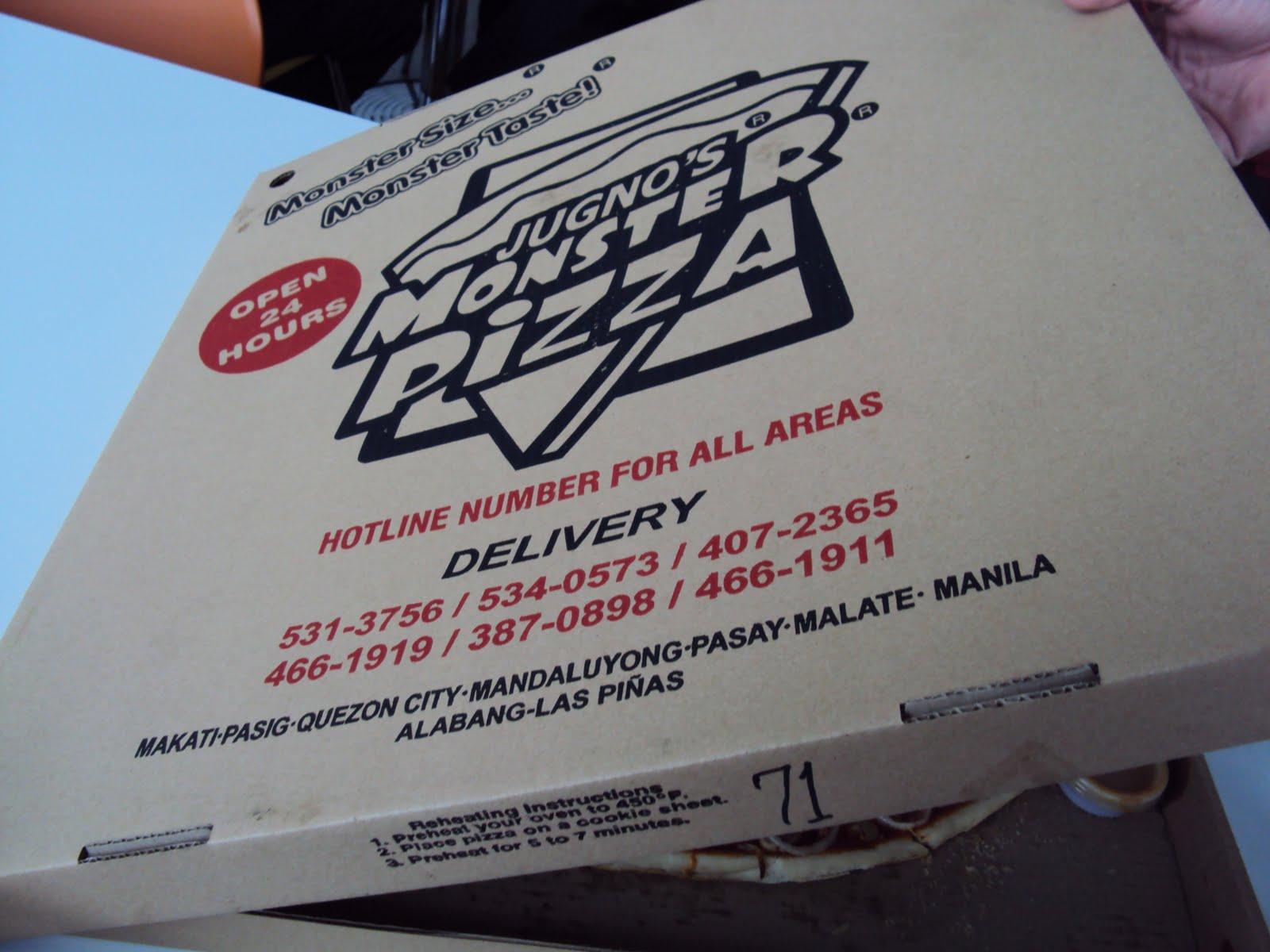 pizza okay monster
