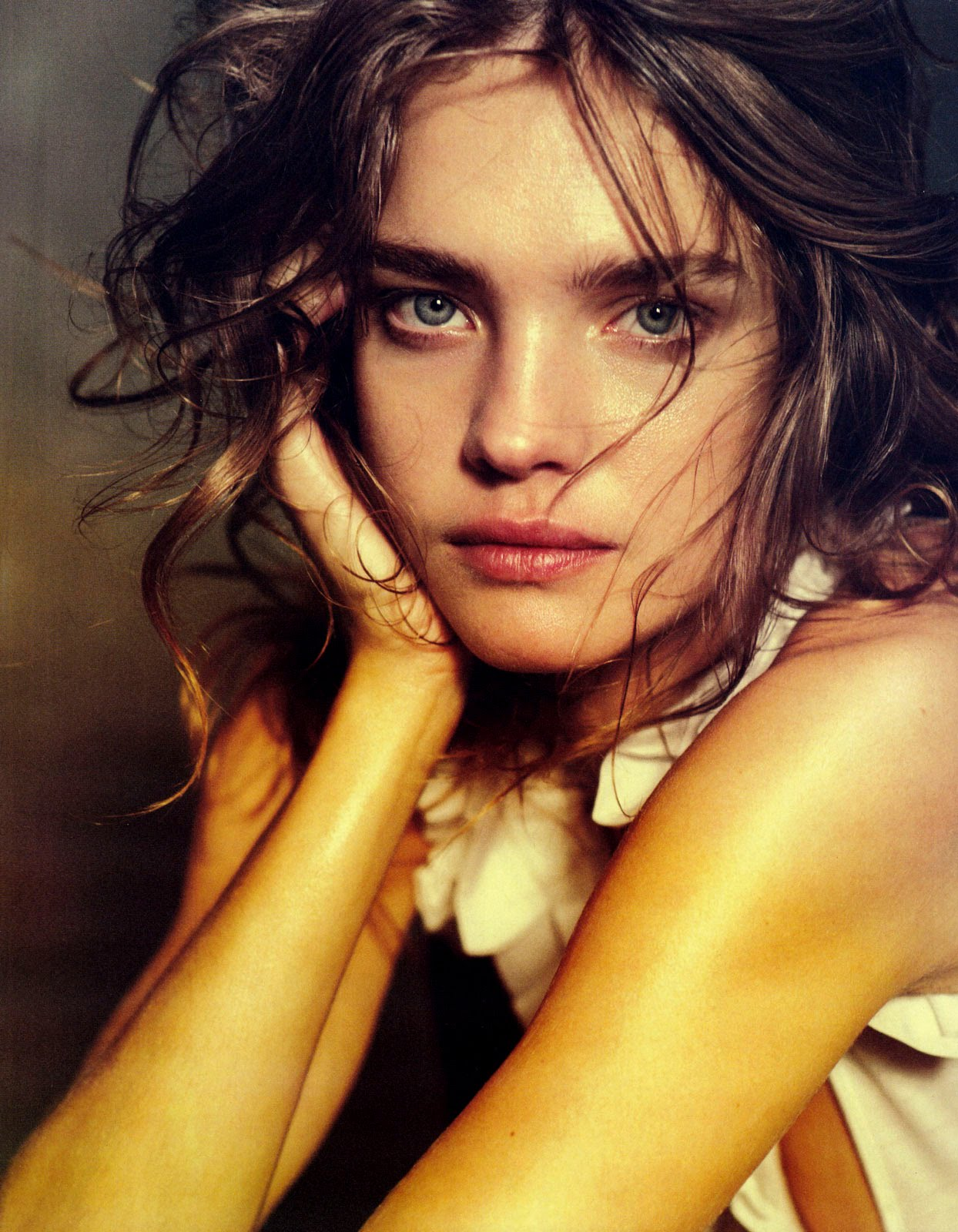 Natalia Vodianova By Paolo Roversi For Vogue Russia: FASHION SPREADS: Natalia Vodianova By Peter Lindbergh In