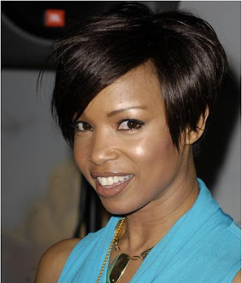 medium emo hairstyles for girls african american short