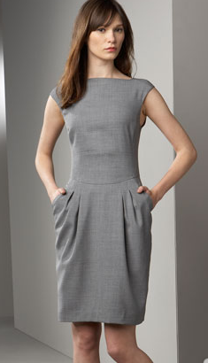 Oh My God Where Did You Get That Grey Work Dresses