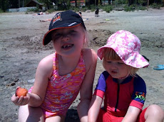 Sisters at Tahoe Vista Beach