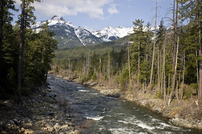 Trinity Alps Photo: Upper Trinity River Class 3