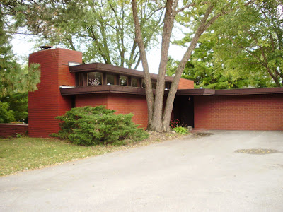 Life At 55 Mph Paul Trier House By Frank Lloyd Wright In