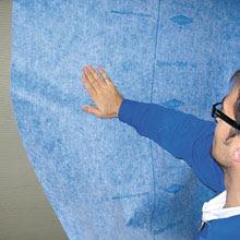 Waterproofing Membrane for Ceramic Tile Shower Assembly