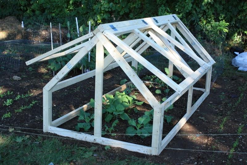 Bepa S Garden Building The Mini Greenhouse