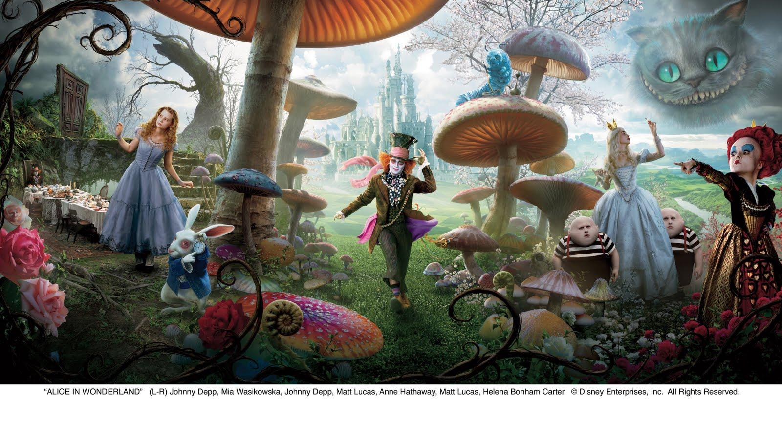 Johnny Depp Mad Hatter Poster