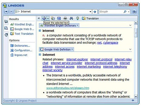 Free Download Dictionary and Translator Software, Lingoes