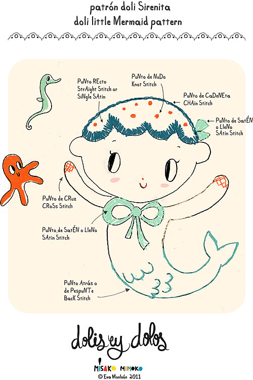 Doli Mermaid Pattern
