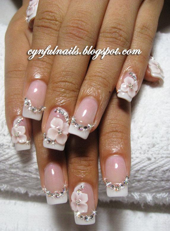 Wedding Nails 2015: Nail Fashion: Lots Of Bridal Nails