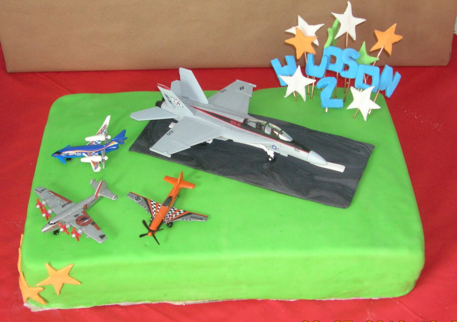 Airplane Cakes For Little Boys