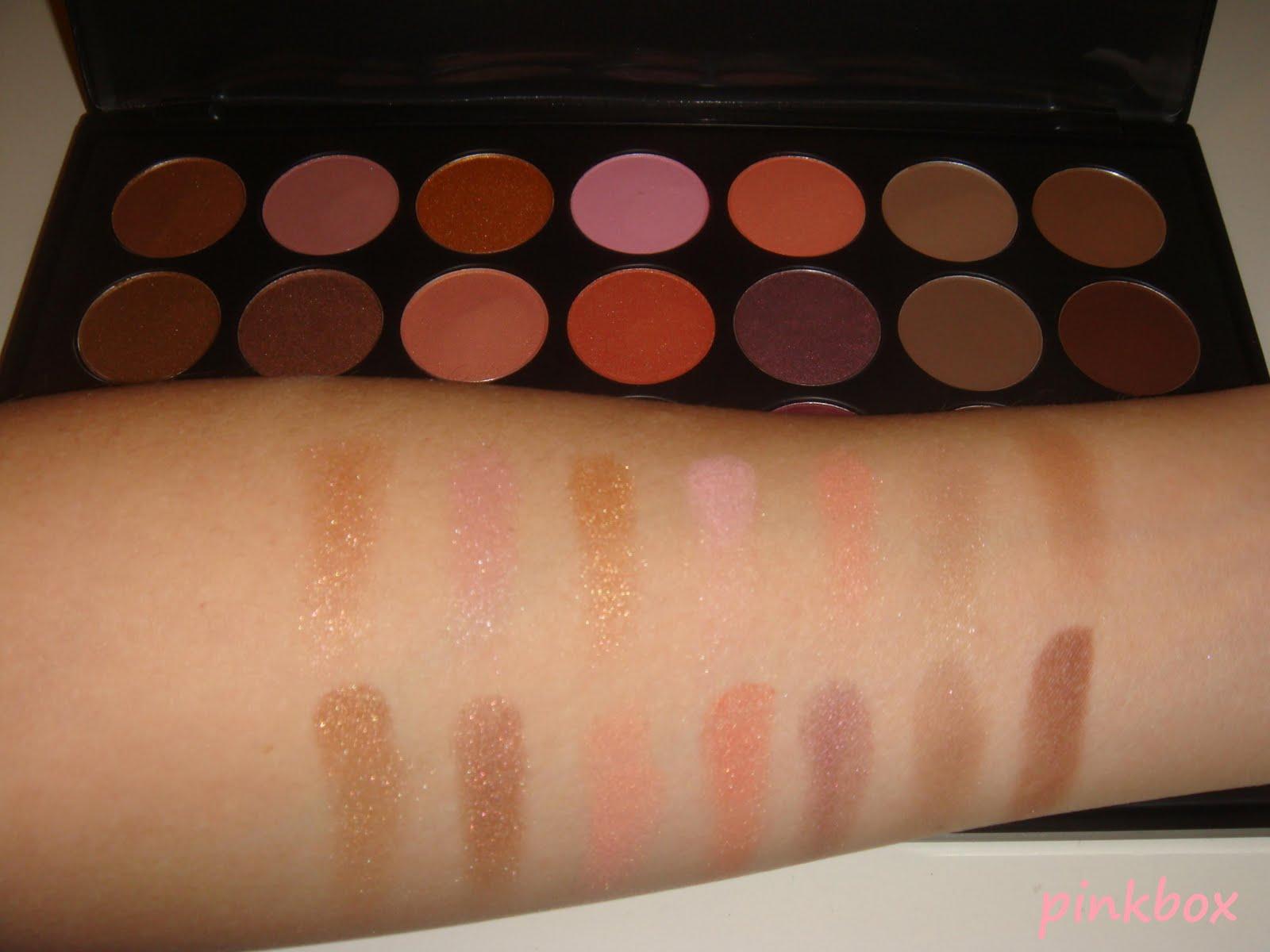 Dark Rose Eyeshadow And Blush Palette by BH Cosmetics #12