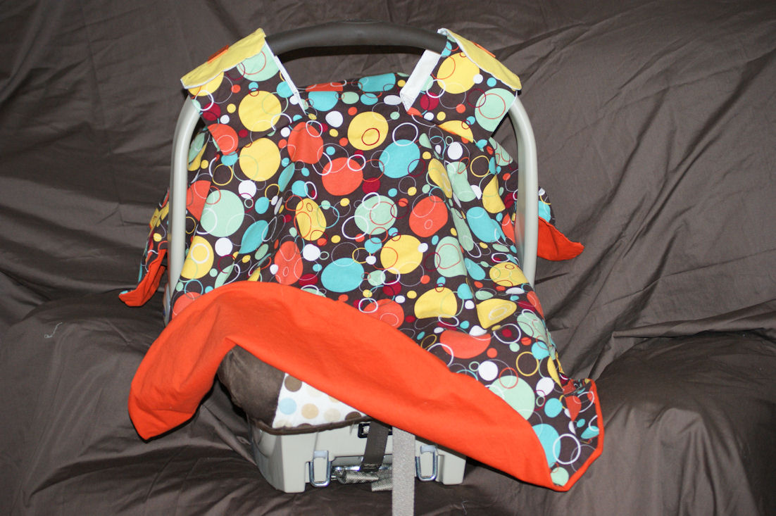 Baby Lane Crafts Homemade Car Seat Covers
