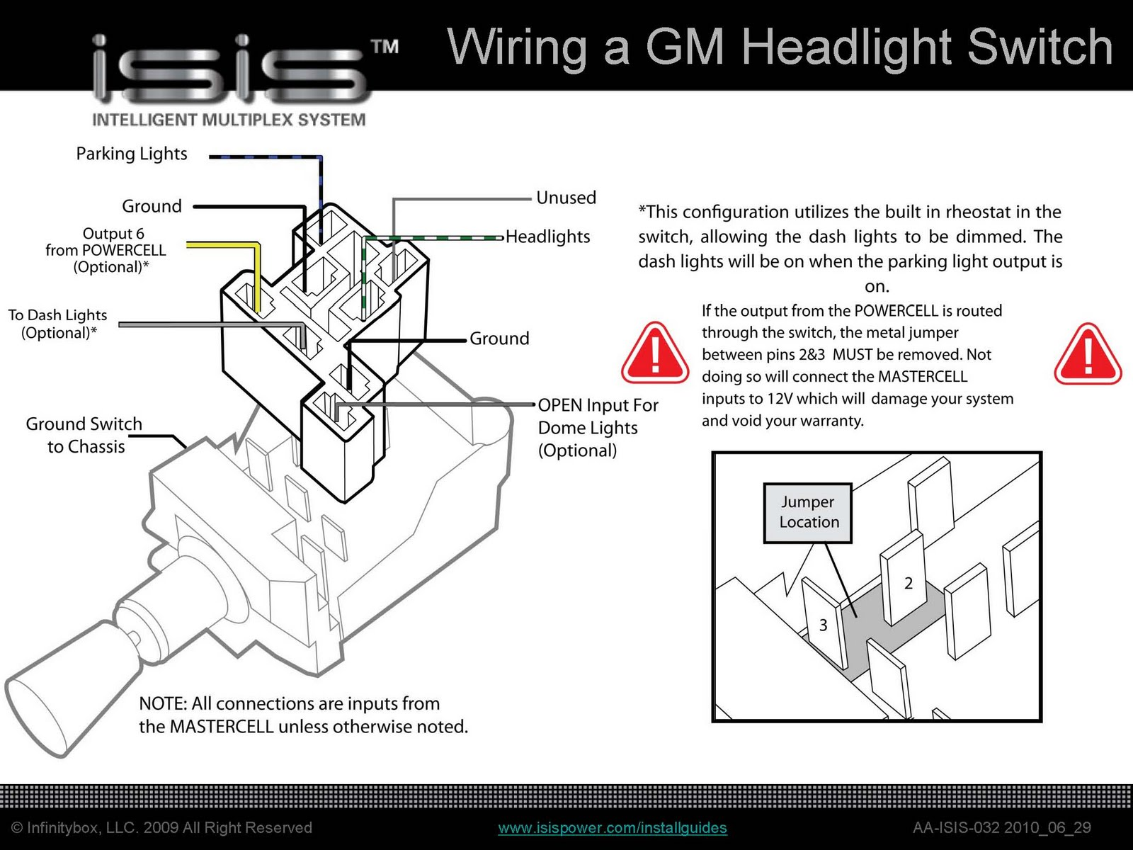 wiring diagram gm headlight switch