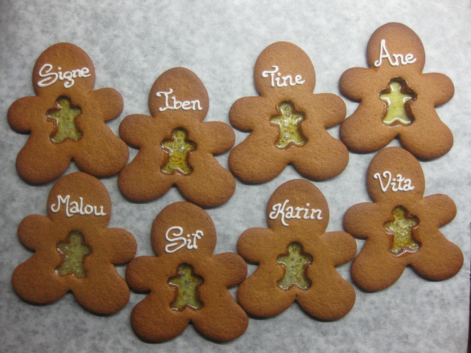 småkage fyldt med bolsche