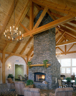 Beautiful Heavy Timber Construction by Vermont Timber Works