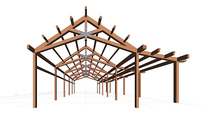 Great Rooms, Trusses & Decorative Ceiling Beams by Vermont Timber