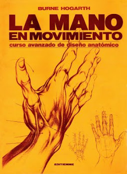 La mano en movimiento de Burne Hogarth