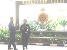 DIR.KOMNAS PK-PU BERKUNJUNG KE BARESKRIM  MABES POLRI DI JAKARTA