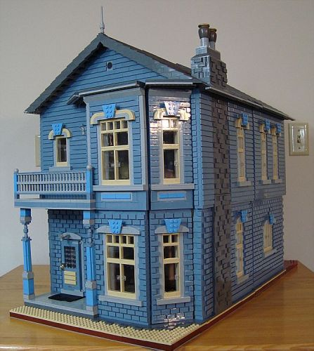 Design Your Own Victorian Home: Single L.A. Dad: Photos: 20 Pictures Of Lego Victorian Homes