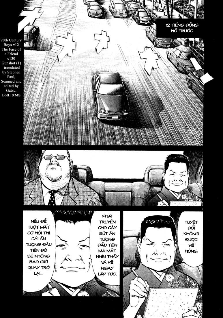 20th Century Boys chapter 130 trang 3
