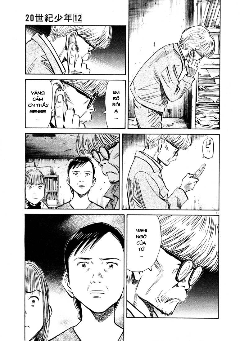 20th Century Boys chapter 131 trang 31
