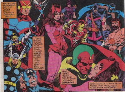 When else are you going to see Mignola draw the Avengers?