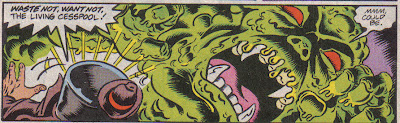 You know, he's the precursor of the Heap, Swamp Thing, Man-Thing...it's true!  Maybe.