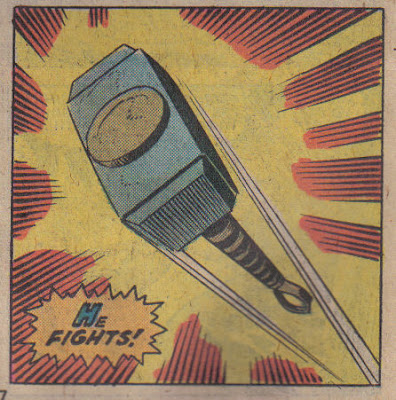 Nice to see Mjolnir get a close-up every now and again.